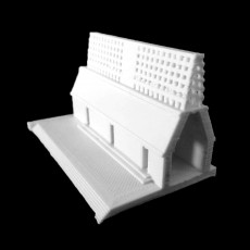 Model of a Maya Temple