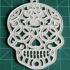 Sugar Skull Halloween Decoration image