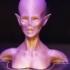 Zombie Queen Bust image