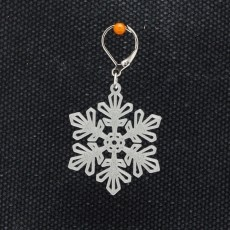 Earrings Snowflake 5
