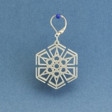 Earrings Snowflake 6