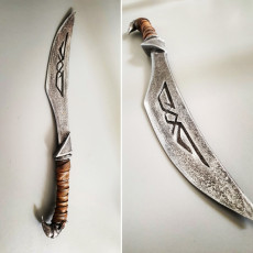Picture of print of Nordic Carved Dagger