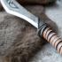 Nordic Carved Dagger print image