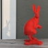 Hare print image