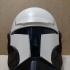 Star Wars Republic Commando Helmet print image