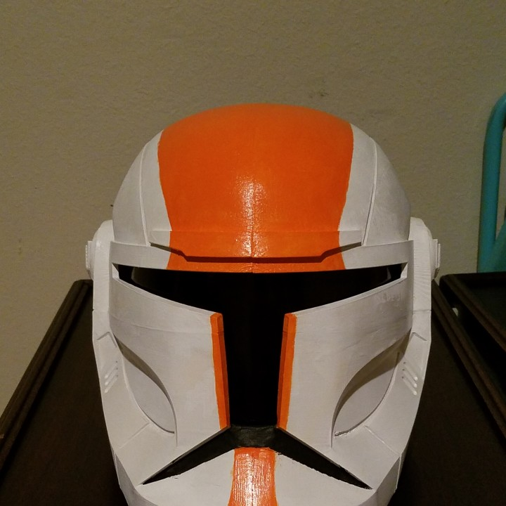 Picture of print of Star Wars Republic Commando Helmet This print has been uploaded by Trey Stacy