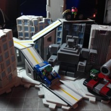 Picture of print of Mech City: Vehicle Set