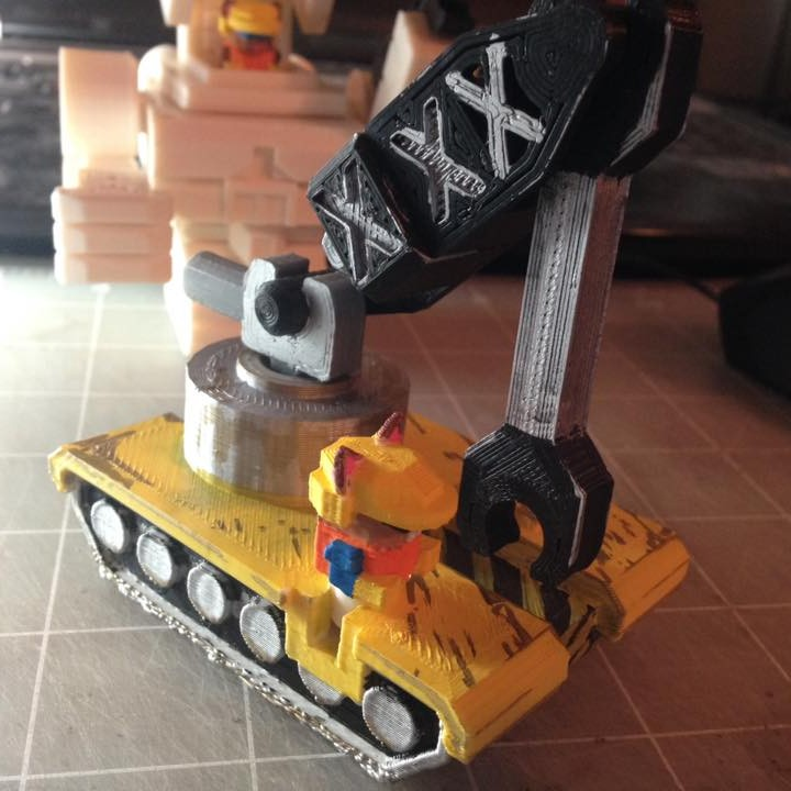 Picture of print of Mech City: Vehicle Set This print has been uploaded by WuLongToys
