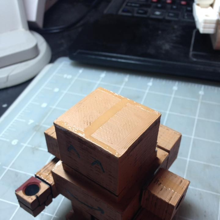 Picture of print of Mech City: Prototype Mech Bloxy This print has been uploaded by WuLongToys