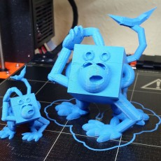Picture of print of Monkey - #3dblockzoo
