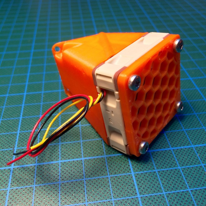 Picture of print of Original Prusa i3 MK2 40x40x10mm fan adapter This print has been uploaded by Wolfgang Schadow