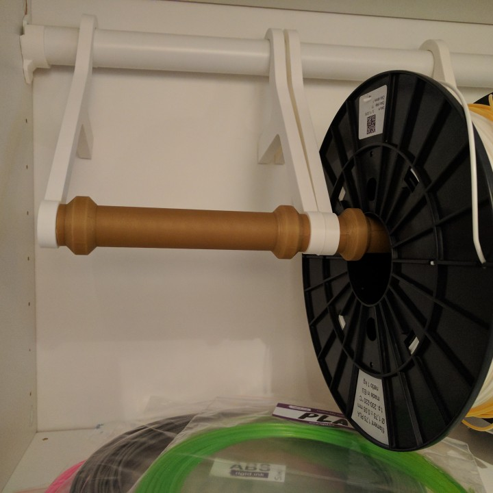 Picture of print of Wall mounted spool holder This print has been uploaded by Jonas Hansen