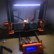 Picture of print of Led strip mounts Prusa i3 MK2 (+Multi Color upgrade version)