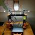 Led strip mounts Prusa i3 MK2 (+Multi Color upgrade version) print image