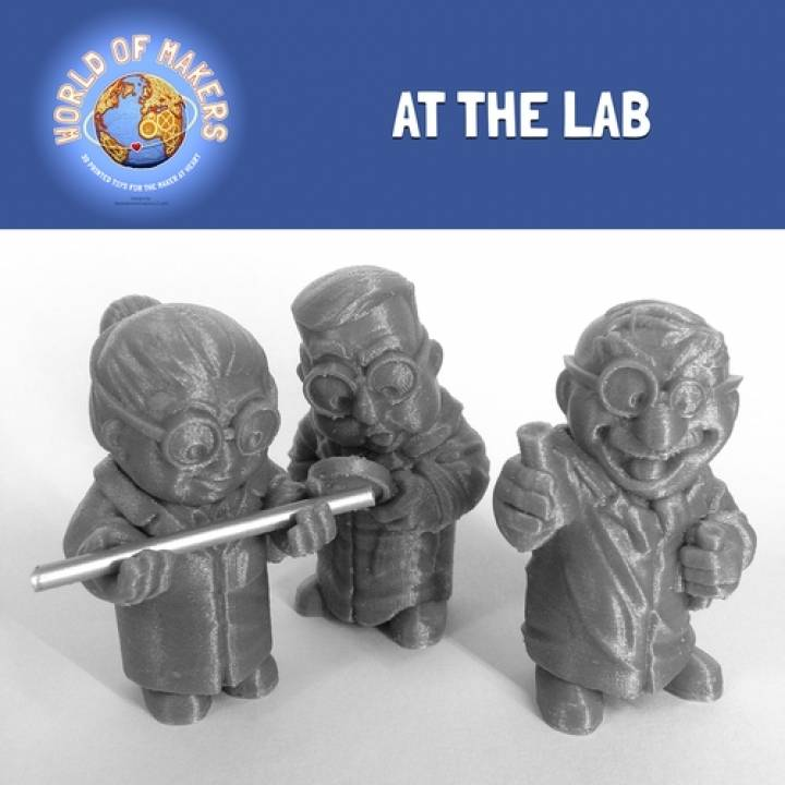 At the Lab: collection from the World of Makers series