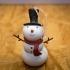 Snowman Christmas Ornament image