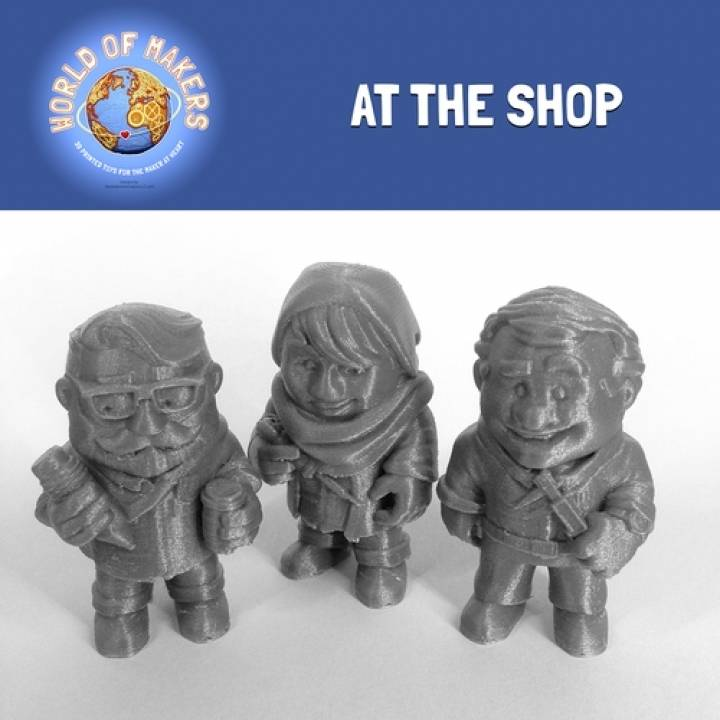 At the Shop: collection from the World of Makers series
