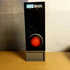 Picture of print of hal 9000