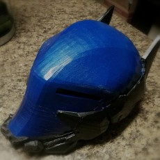 Picture of print of Arkham Knight Helmet