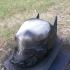 Arkham Knight Helmet print image