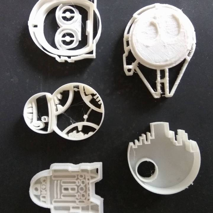 Star Wars Cookie cutters pack