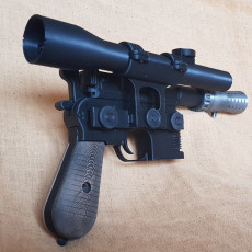 Picture of print of Model kit - Han Solo's DL-44 Heavy Blaster Pistol