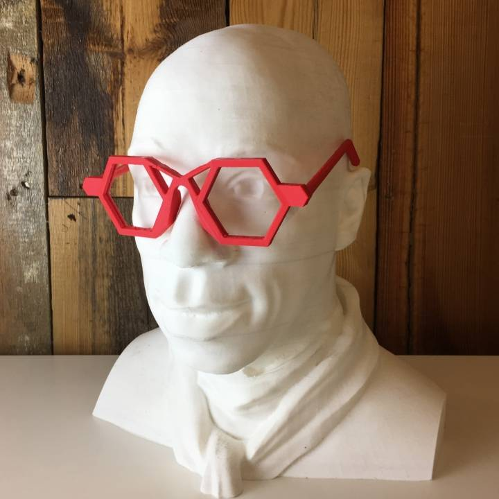 #DesignItWright Football homage glasses