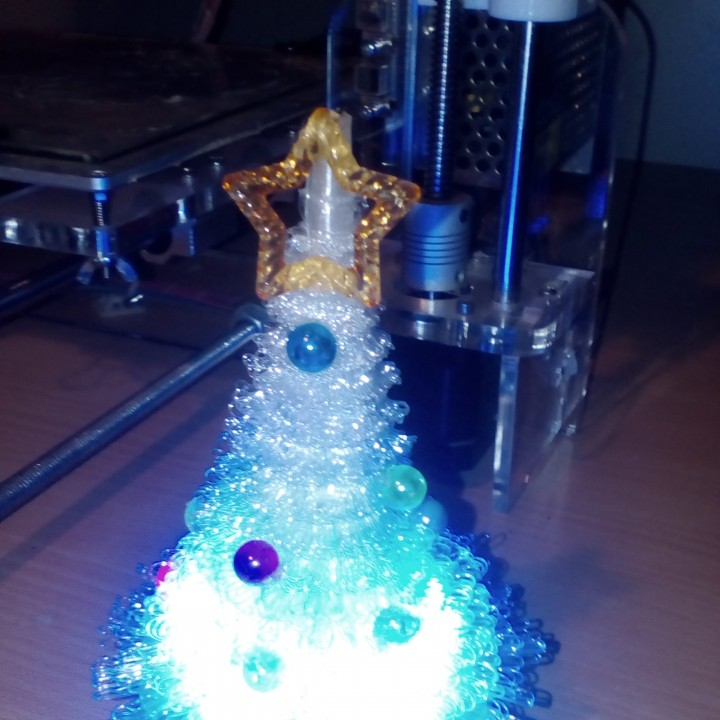 Picture of print of 100% 3D Printed Furry Christmas Tree! This print has been uploaded by Prusa master