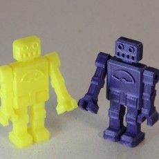 Keychain Robot (articulated print-in-place)