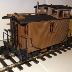 Picture of print of US Bobber Caboose Scale 1/32 - OpenRailway