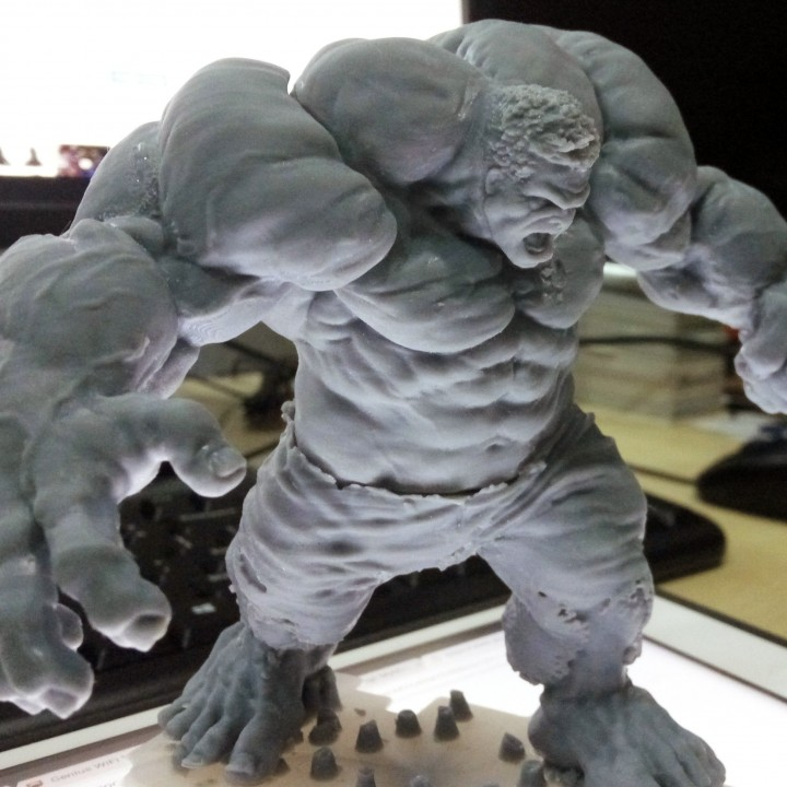 Picture of print of Hulk This print has been uploaded by Fasya Daud