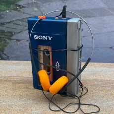 Picture of print of Starlord's Sony Walkman