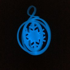 Picture of print of Foldable Christmas Ornament