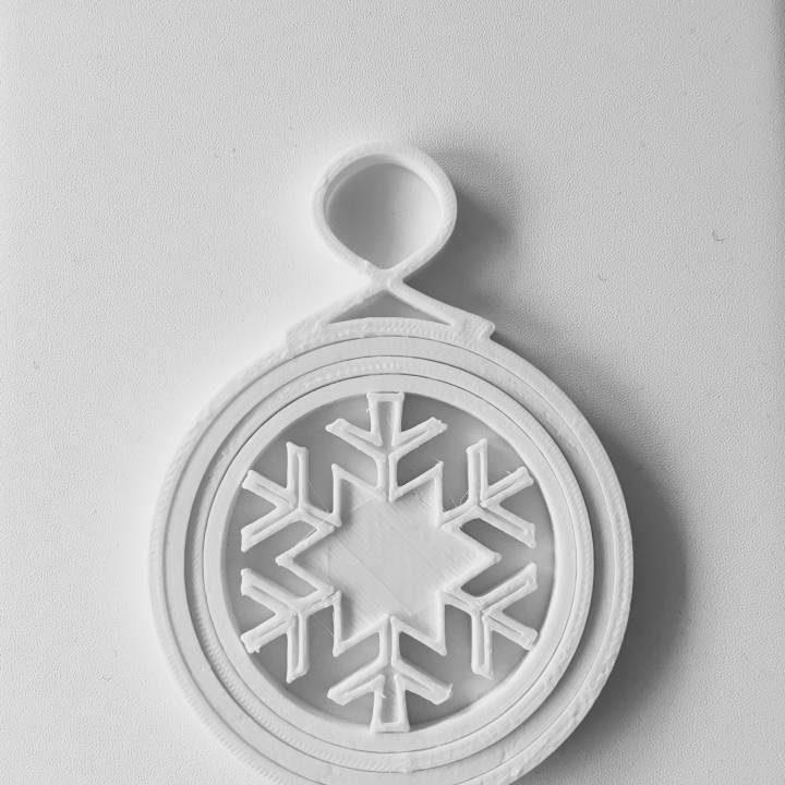 Foldable Christmas Ornament