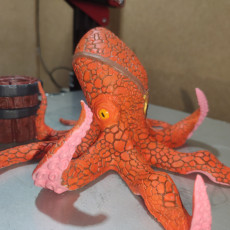 Picture of print of Octopus