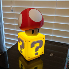 Picture of print of Power-up Mushroom from Mario