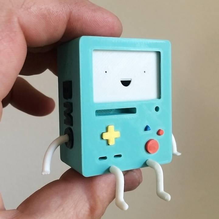 Adventure Time BMO -Sitting with faces to change