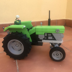 Picture of print of OpenRC Tractor