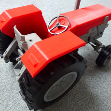 Picture of print of OpenRC Tractor This print has been uploaded by Detlef Heine