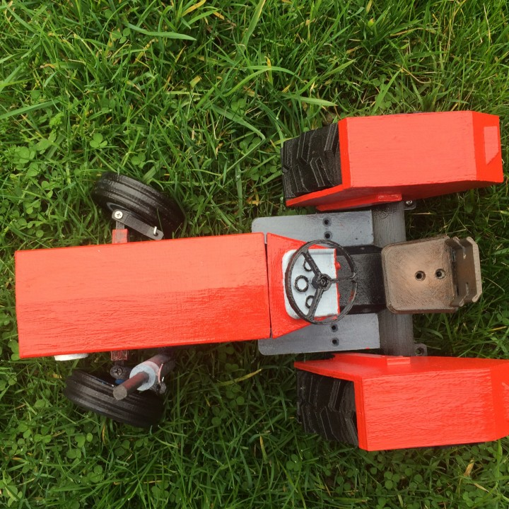 Picture of print of OpenRC Tractor This print has been uploaded by Franky Hall