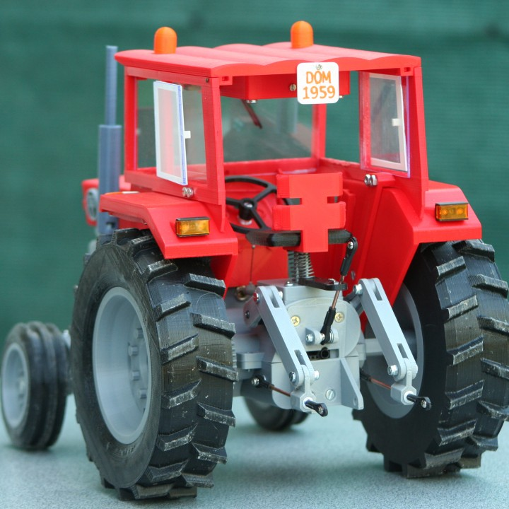 Picture of print of OpenRC Tractor This print has been uploaded by Jovelin Dominique