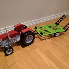 Picture of print of OpenRC Tractor trailer
