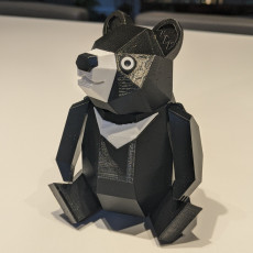 Picture of print of Formosan Black Bear
