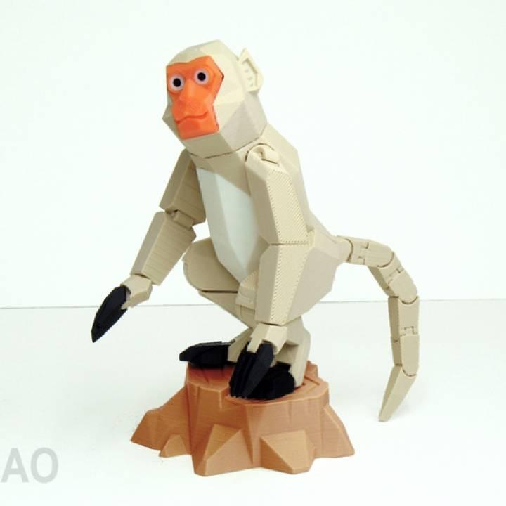 Bing-shen year of Formosan monkey
