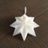 Christmas decoration star image