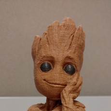 "Picture of print of Baby Groot flower pot: ""Gardens"" of the Galaxy 2 This print has been uploaded by Steven Gotthardt"