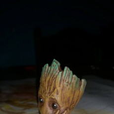 "Picture of print of Baby Groot flower pot: ""Gardens"" of the Galaxy 2 This print has been uploaded by Zoltan Bicok"
