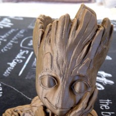 "Picture of print of Baby Groot flower pot: ""Gardens"" of the Galaxy 2 This print has been uploaded by TED3D"