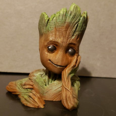 """Picture of print of Baby Groot flower pot: """"Gardens"""" of the Galaxy 2"""