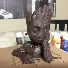 "Picture of print of Baby Groot flower pot: ""Gardens"" of the Galaxy 2 This print has been uploaded by Nick"